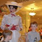 Mary Poppins was trying to get Caden to snap